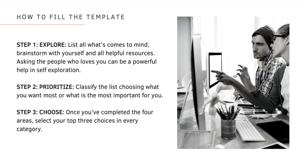 How to Find Your Niche Free Template Instructions
