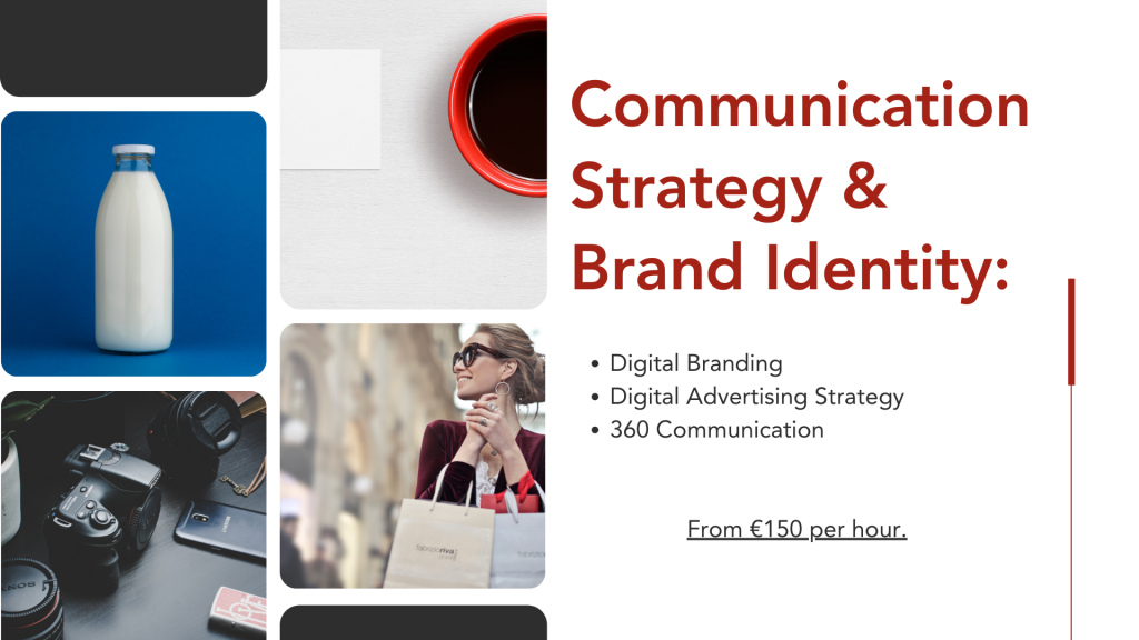 How much for Marketing? Communication Strategy & Brand Identity Costs