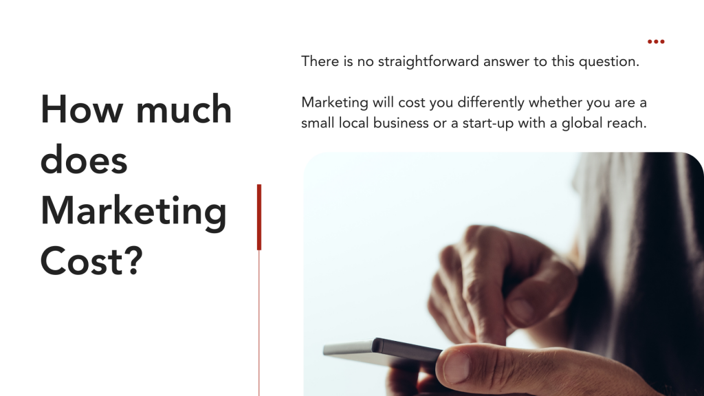 How much does marketing cost