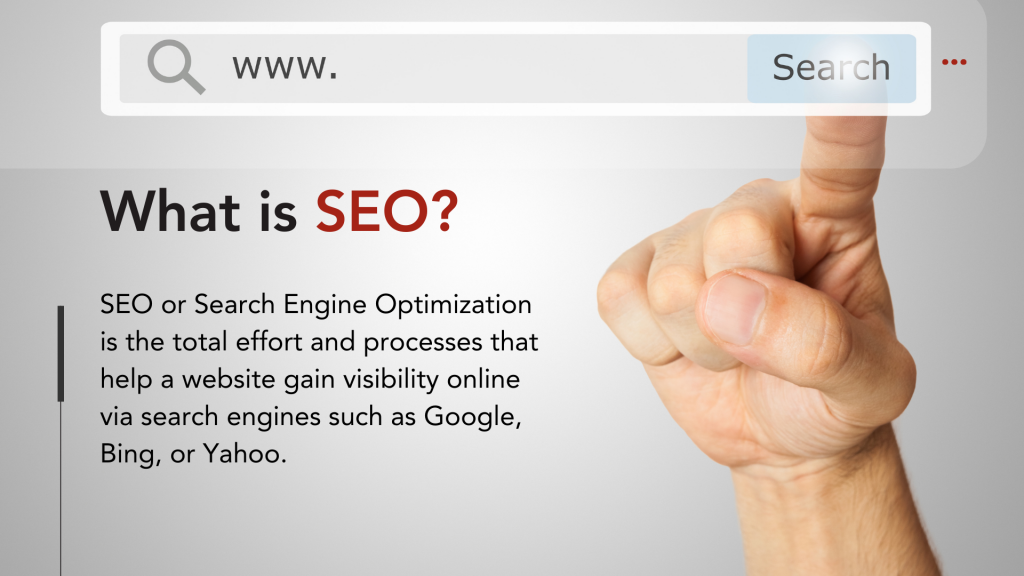 What is SEO or Search Engine Optimization - Definition
