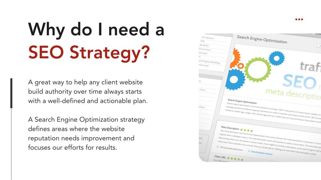 Why do I need an SEO Strategy?