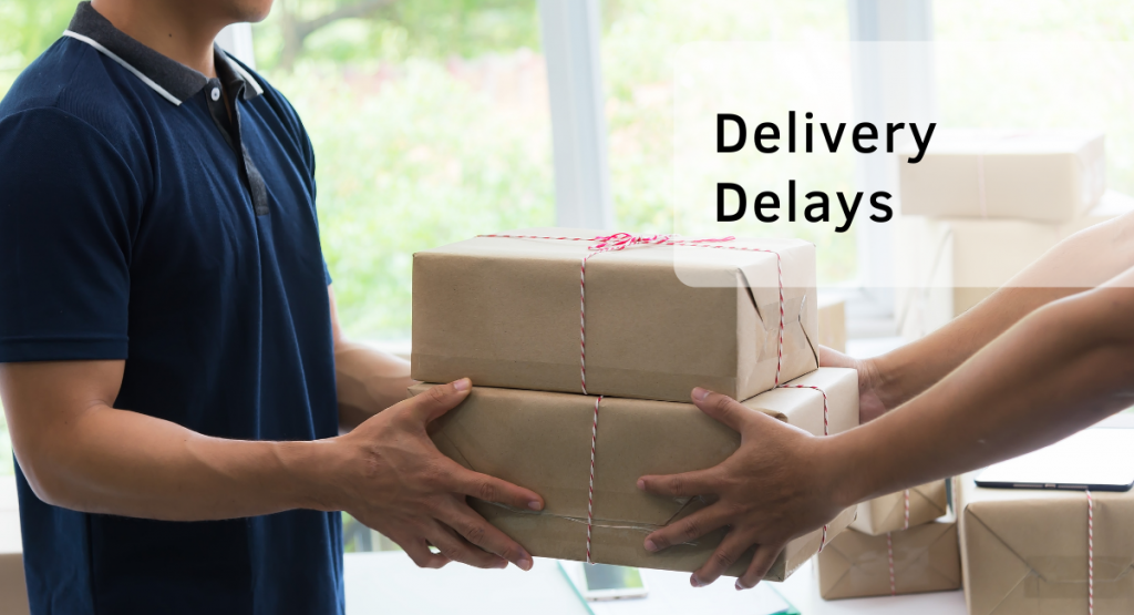 Dropshipping pros and cons - delivery delays - Ohma Digital