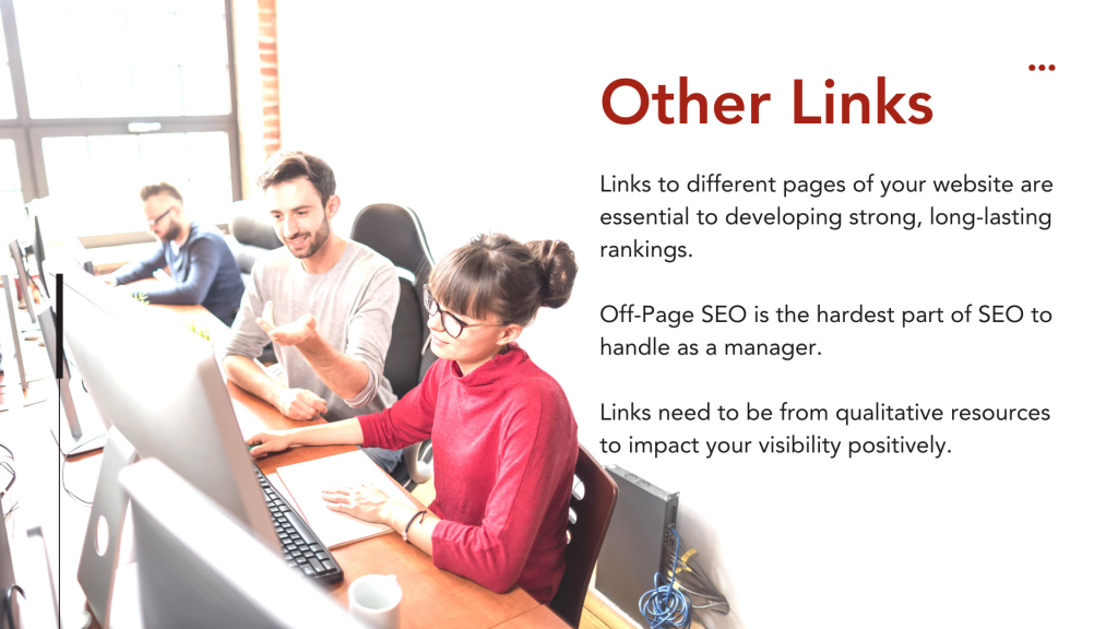 Building Links -  Other Links
