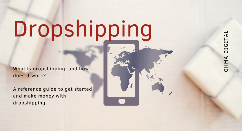 What is dropshipping? - Title - Ohma Digital