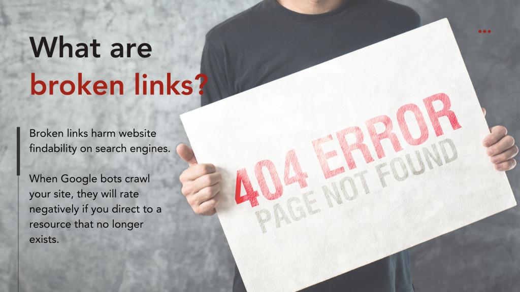 Building Links - What are broken links?
