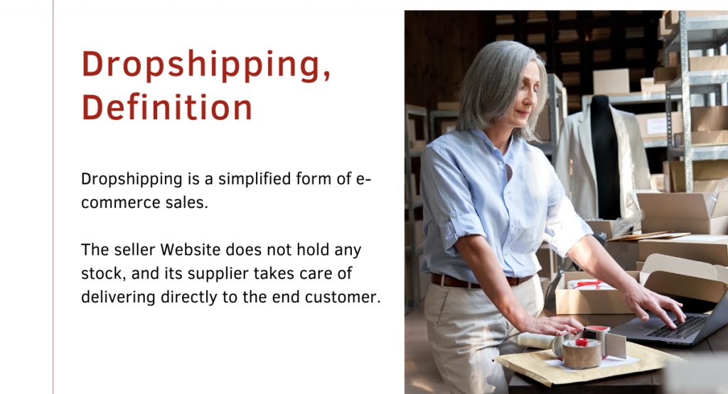What is Dropshipping - Definition - Ohma Digital