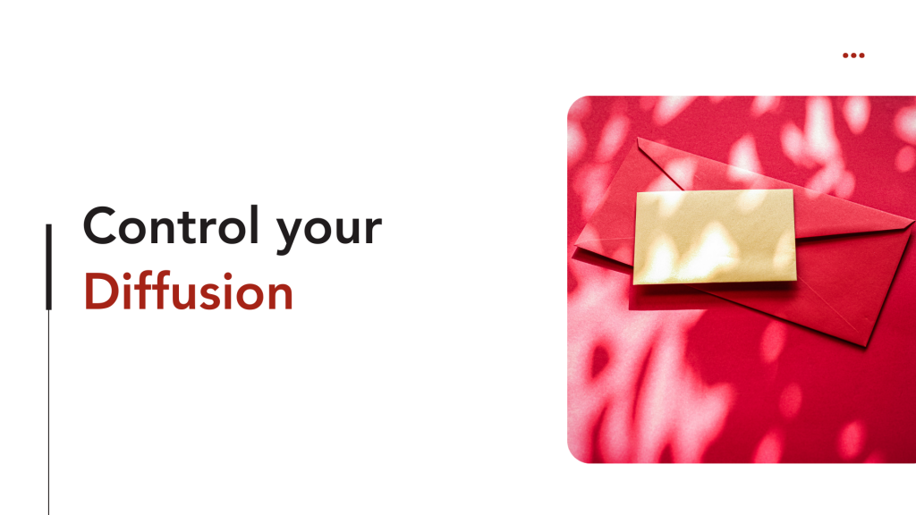 How to get more email subscribers?  - control your diffusion