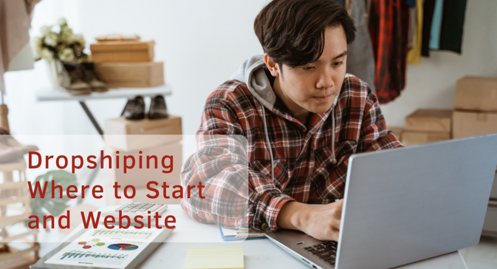 Where to start in Dropshiping with a website?