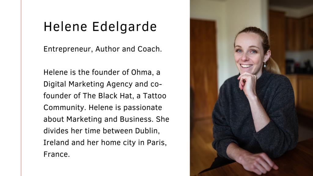 Helene Edelgarde Marketing Ohma
