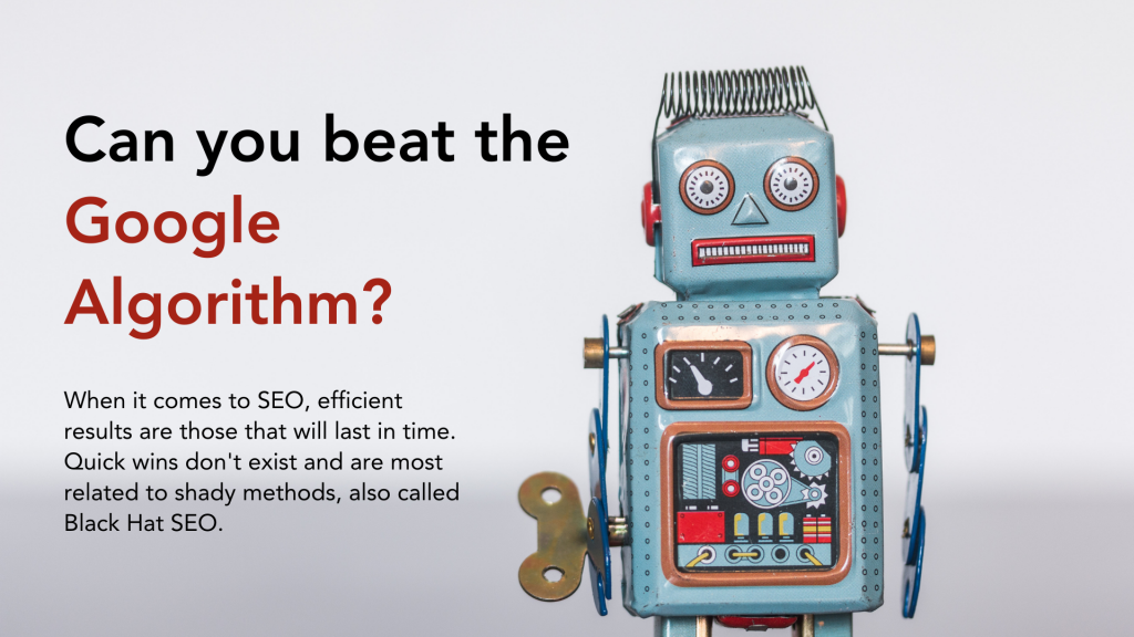 Can you beat the Google Algorithm?